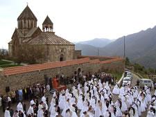 Свадьба в Гандзасарском монастыре, Нагорный Карабах